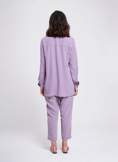 Mizalle Bluz Lila